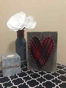 Personalized heart and love signs