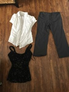 Lot of women's clothing size med Prince George British Columbia image 2