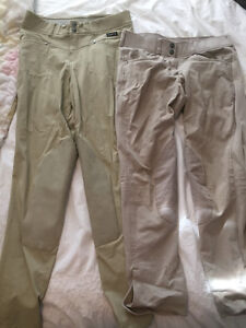 Two Pairs Of Tan Showing Breeks