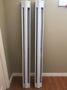 1500W, 240/208V, Baseboard Heaters, 5' used little, $80 for 2