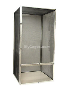 XL 36x18x18 Screen Chameleon Reptile Cage DIY CAGES SC-3- FREE SHIPPING ALUM NEW