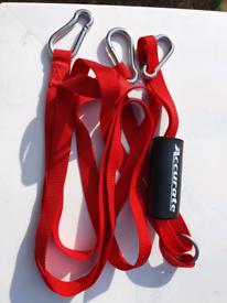Brand new JOBE ski tow rope and ACCURATE transom bridge