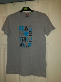 Boys north face tshirts age l/g