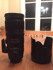 Sigma 70-200mm /f2.8 stabilized for Canon EF