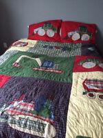 couvre lit garçon lit double