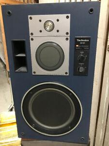 Vintage Technics Sb-M5 Audiophile Speakers