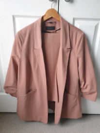 Womens Suit Blush Pink Size 18 NEW