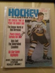 Hockey illustrated magazine 1969 featuring Bobby Orr