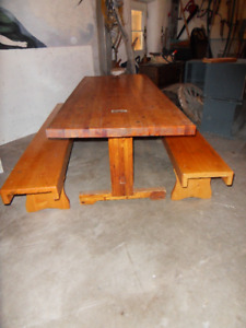 Rustic Pine Family-Sized Table
