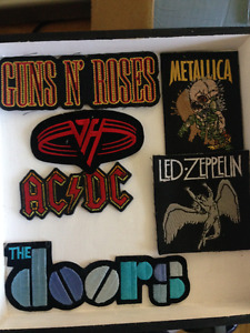 Classic Rock - Fabric Patches