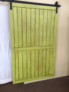 Handcrafted Custom Rustic Sliding Barn Doors, Hardware & Soft Cl