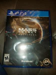 Mass effect Andromeda ps4 new neuf scellé