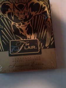 The Marvel FLAIR Collection Cards '94 (Unopened Pack)
