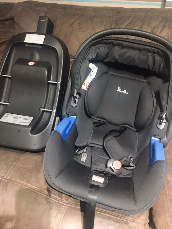 Silver Cross car seat and seat base Universal 0-13 kg Y- semi ...