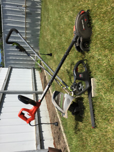 Trimmers and Rototiller
