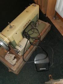 Singer sawing machine classic vintage barn