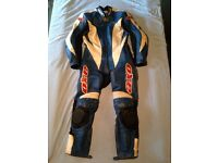 AXO 1 piece leather motorbike suit