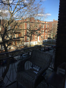1 Room in Beautiful Outremont Apt for Rent- June 1~ Aug