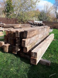 BC FIR - Bois grange / Barn wood - madrier
