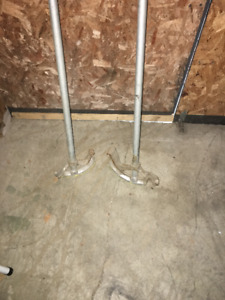 """Electrical conduit benders ,for 1/2"""" and 3/4"""" pipe."""