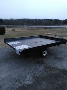 Atv or Snowmobile Trailer