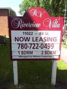 Riverview Manor -Renovated 1BDR-1 block to LRT- 2 months 1/2 off