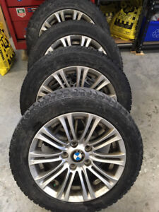 4 Mags BMW and Nokian winter tires ( roues et pneus hiver )