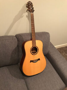 Crafter Acoustic 6 String Solid Wood Mint Condition