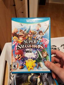Super Smash Bros Wii U, MINT CONDITION