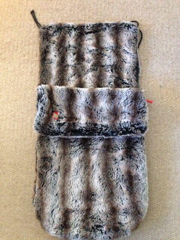 Buggy Snuggle Fur Footmuff In Blyth Northumberland