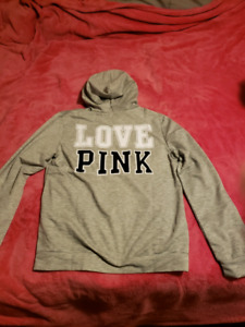 New Love Pink Light Hoodie fits sm/med.