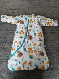 Brand new bedtime baby grow bag with arms