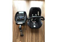 Maxi Cosi CabrioFix Seat and EasyFix Base (0+)