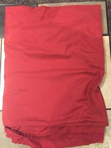 Red Bed Sheet For Sale Regina Regina Area image 1