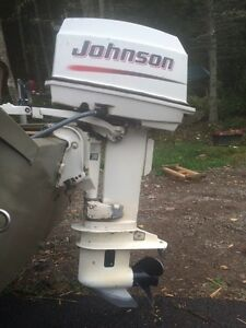 30 Hp Johnson (BRP) Outboard 2002