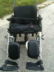 Wheel Chair that tilts |Articulating Legrests|Footrest|seat belt