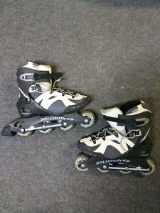 Womens Size 9.5 Salomon Rollerblades in Excellent Condition