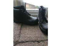 Grafters steel toe cap work boots