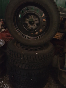 """16"""" mint winter tires and rims 5x115"""