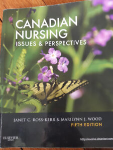 RN/RPN Text Books: Canadian Nursing Issues and Perspectives