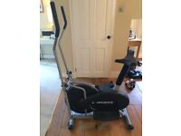 Confidence Fitness Cross Trainer and Bike (2 in 1)