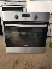 Zanussi multifunction single electric oven built in 60cm