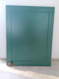 Taupe kitchen cupboard door