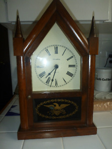 Ethan Allan Steeple Mantle Clock