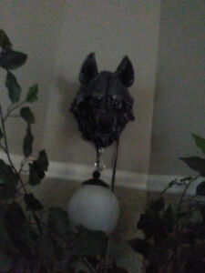lampes medieval (loups)
