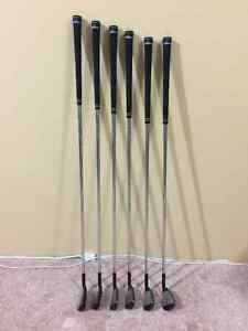 Adams XTD irons - Left Handed, regular flex