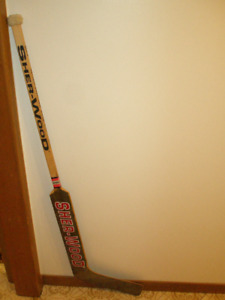Sher-Wood / Sherwood Goalie Stick G.G.20 Drolet Made in Canada