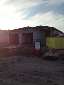 Newly Constructed Duplex by Cobbelstone Homes. $1300 + utilities