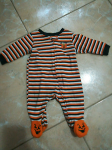 0-3 month baby snowsuit