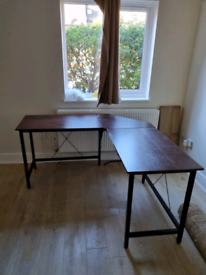FREE Computer L-shaped desk